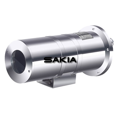 Hazardous Area IP68 Smart Size Explosion Proof  Fixed Stainless Steel CCTV Camera Housing